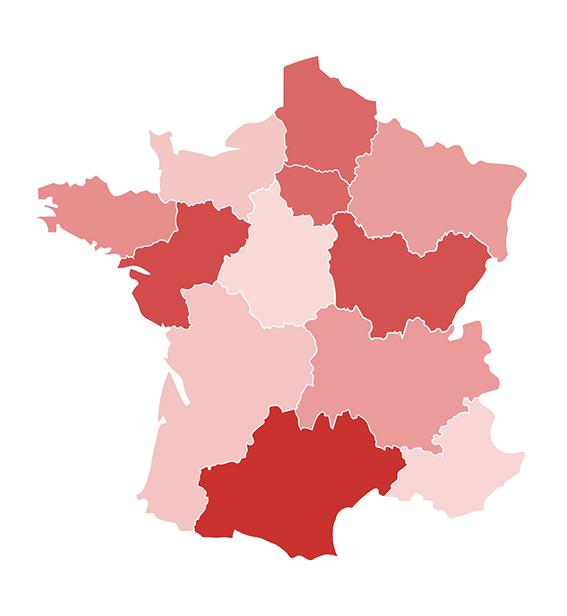 Carte region